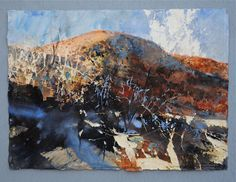 Red Hill Early Light Llanthony - David Tress Landscape Painting Images, Landscape Art, Paintings I Love, Love Painting, British Artists, Contemporary Landscape, Art Images, Painters, Art Drawings
