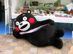 Kumamon is just too sassy for me....