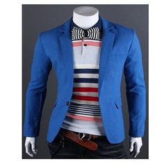 6b2ed8cf2 2017 new brand clothing linen jacket men s personality Popular  single-button men s suit jacket Slim