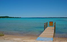 Torch Lake, Michigan  Gorgeous Caribbean Blue Water crystal clear...can't beat it