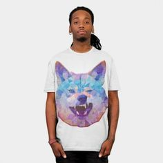 Rainbow Wolf T-shirt Design by Ancello1 - fancy-tshirts.com