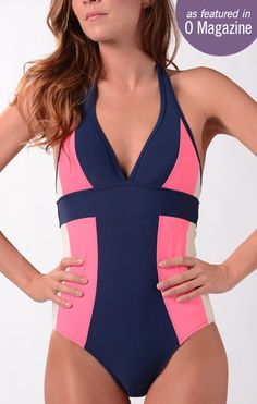 Footbridge Beach Suit from Downeast- so flattering!