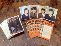 THE BEATLES TRADING CARDS.  BOY DID I HAVE A LOT OF THESE.  WISH I KNEW WHERE THEY ALL WENT....