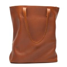 Leather Tote - Wit & Delight