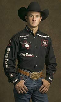 Mike White. Rode great when he was younger, now he raises great bulls as a stock contractor. (He also makes a a special arena appearances.)