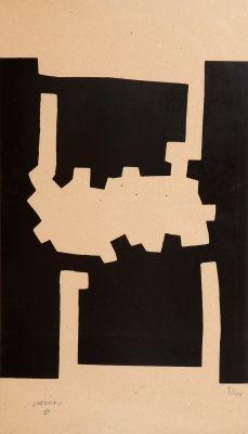 CHILLIDA JUANTEGUI, Eduardo (San Sebastián, 1924 – 2002).Sin título.