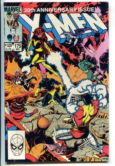 Uncanny X-Men 175 Marvel 1983 NM Wolverine Cyclops Dark Phoenix Colossus