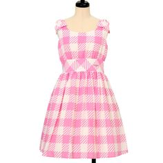 Emily gingham Sleeveless Dress Emily Temple cute https://www.wunderwelt.jp/en/products/w-13044  IOS application ☆ Alice Holic ☆ release Japanese: https://aliceholic.com/ English: http://en.aliceholic.com/