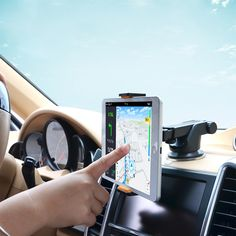 Car Windshield Mobile Phone Universal Holder Mount For iPhone 5S 5C 5G 4S Samsung iPod GPS for Ipad mini Tablet Stand
