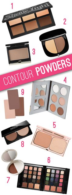 Best Contour Palettes for powder contour and highlight! Alternatives to the hyped-up Anastasia Contour Palette!