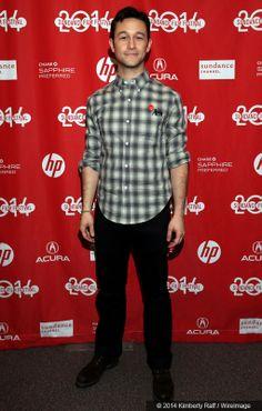Joseph Gordon Levitt at the premiere of HitRecord on TV.