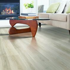 Light oak wood finish, plank laminate flooring, easy to install and covered by PERGO& lifetime warranty. Pergo Laminate Flooring, Cork Flooring, Engineered Hardwood Flooring, Wood Laminate, Vinyl Flooring, Hardwood Floors, Flooring Ideas, Ceramic Flooring, Modern Flooring