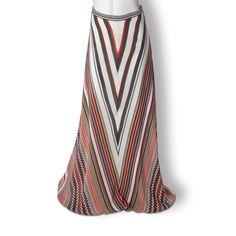 Beyond Vintage Ziggy Maxi Skirt