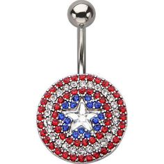 belly button ring avengers - Google Search