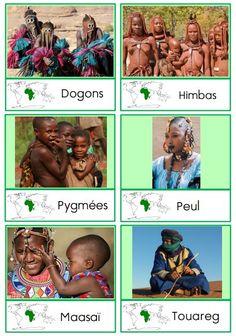 Géo - La classe d'Eowin cartes de nomenclature peuples d'Afrique