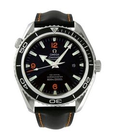 Omega Seamaster automatic-self-wind mens Watch (Certified Pre-owned) – Houffpauir Swiss Watches Seamaster 300, Omega Seamaster Automatic, Scuba Diving Watches, Cool Watches, Watches For Men, Omega Railmaster, Omega Planet Ocean, Speedmaster Professional, Moon Watch