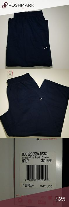 Shop Men s Nike Blue size Sweatpants   Joggers at a discounted price at  Poshmark. 3e6c3c396