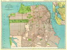 Image From HttpusaatlascomBIGjpg - San francisco map puzzle