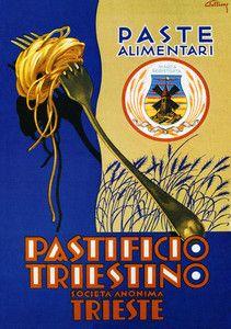 Vintage Italian Posters ~ PASTA Italian  #Vintage #Italian #Posters