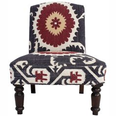 Casual Living Suzani Kilim Multi Chair | Overstock.com