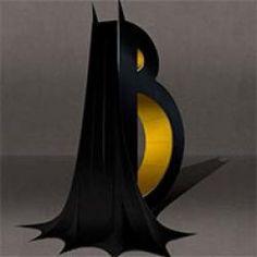 Confira em 3d o alfabeto dos super heróis