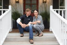 Fixer Upper's dynamic duo go all in on every one of their projects. Our hands-down favorite: The rock-solid foundation of their relationship.