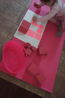 pink tower extension mats