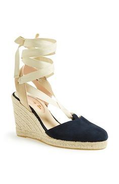 SJP 'Inez' Wedge Espadrille (Nordstrom Exclusive) available at #Nordstrom #SJP #SWEEPSENTRY  Can always use a classic Espadrille - can't wait for summer!