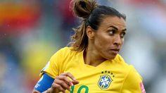 Marta: 96 gols pela seleção brasileira; nem Pelé conseguiu