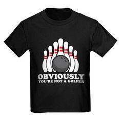 Not A Golfer T-Shirt on CafePress.com
