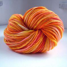 Handspun, spinning and dyeing, merino 18 mic | Renata Holková | Flickr