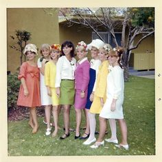 Easter attire, snapshot, 1967.
