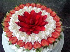 Creative Desserts, Cute Desserts, Wedding Desserts, Creative Cakes, Mini Cakes, Cupcake Cakes, Fresh Fruit Cake, Cake Recipes, Dessert Recipes