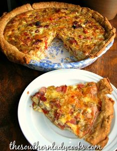 You searched for Ham and cheese tomato quiche - The Southern Lady Cooks Tomato Quiche, Sausage Quiche, Ham And Cheese Quiche, Tomato Pie, Tomato And Cheese, Yummy Quiche, Ham Quiche, Cheese Sausage, Frittata
