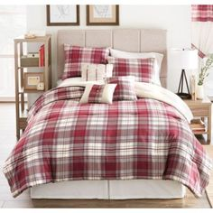 Parker loft 39 winchester 39 12 piece comforter set sears for Housse de couette sears