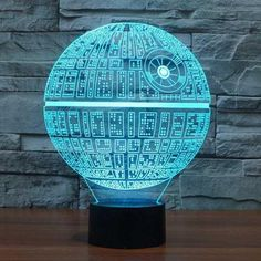 Death Star 3D Illusion Lamp