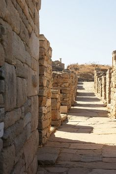 Delos, Greece by sarahbalog, via Flickr