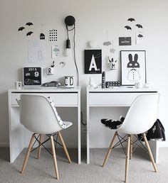 Working space for two