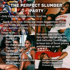 Recently shared fun things to do with friends at sleepovers bff Teen Sleepover, Fun Sleepover Ideas, Sleepover Activities, Sleepover Party Games, Social Activities, Girl Life Hacks, Girls Life, Things To Do At A Sleepover, Things To Do When Bored