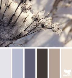 winter tones | design seeds