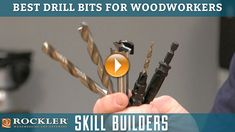 Best Drill Bits for Woodworking