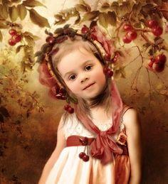 Cherries & Girl
