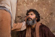 Juan 9:1–41, Cristo habla con un hombre ciego en la calle