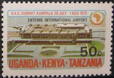KUT OAU Summit Conference 50c 1975
