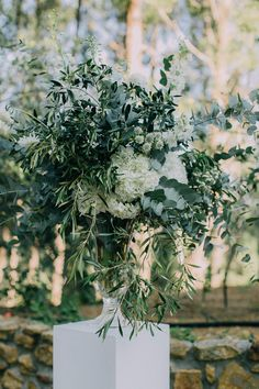 Greenery ceremony display | Credit: Michelle du Toit