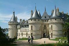 Le château de Chaumont-sur-Loire. *info: http://www.chaumontsurloire.fr/