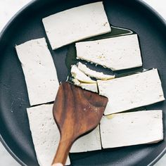 How to Cook Tofu! Our four go-to ways to prepare tofu: baked, sautéed, fried, and scrambled. Perfect for a variety of meals. YUM! #tofu #howto #vegan #vegetarian Firm Tofu Recipes, Diet Recipes, Vegetarian Recipes, Vegan Vegetarian, Cooking Recipes, Vegan Meals, Tofu Tacos, Bariatric Eating, Fries