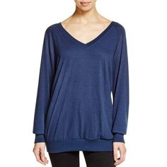 Nation LTD Womens Knit Ribbed Trim Pullover Sweater