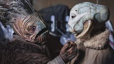 industrial light and magic presents making solo a star wars story exclusive images 1 Star Wars Species, Star Wars Novels, Star Wars Droids, Star Wars Day, Alien Races, Star Wars Pictures, Star Wars Characters, Sci Fi Art, Creature Design