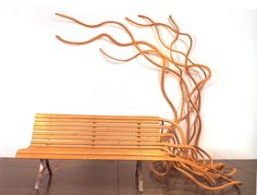Wooden Bench Design by Pablo Reinoso